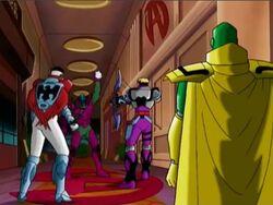 Avengers See Kang Capture Wasp