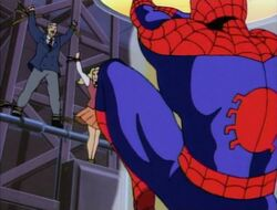 Spider-Man Swings to Save Doctor Octopus Hostages
