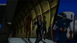 Avengers First Disembark UA