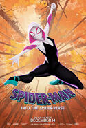 Spider-Man Into the Spider-Verse Spider-Gwen Poster
