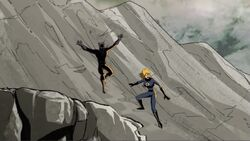 Invisible Woman Black Panther Slide to Firelord AEMH