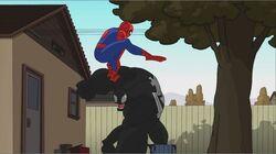 Spider-Man Leaps Over Venom SSM