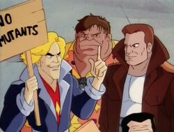 Brotherhood Anti-Mutant Protest