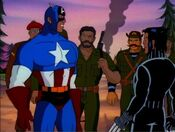 Howling Commandos Find Cap