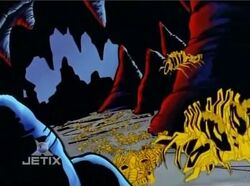 Symbiote Spores Underground