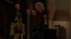 Thor Tries New Sword TTA
