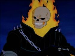 Ghost Rider Hears Scream
