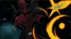 Deadpool Fires Guns HV