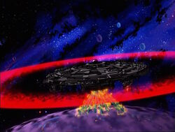 Galactus Blasts Kalek Husserl