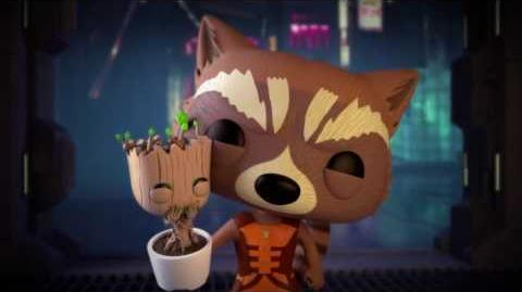 Marvel Funko Short - Bait N Switch