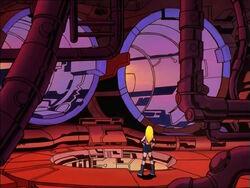 Frankie Galactus Ship