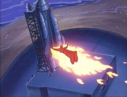 Torch-Skrull Approaches Shuttle
