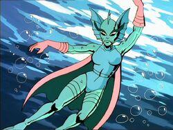 Alien Sea Woman