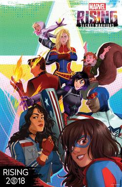 Marvel Rising Artwork