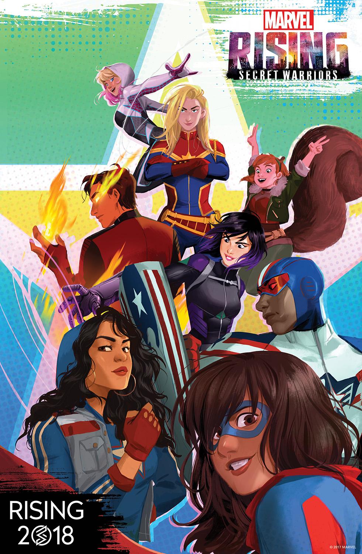 marvel rising: secret warriors (video) | marvel animated universe