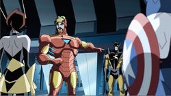 Iron Man Going To Stop Yellowjacket AEMH