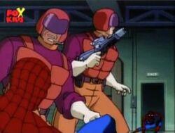 Kingpin Goons Two Spider-Men