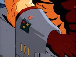 Sabretooth in X-Men Shackles