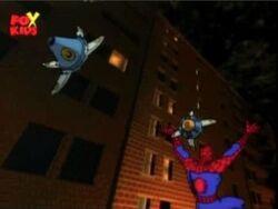 Spider-Man Escapes Spider Seeker Trap