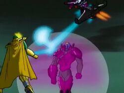 Avengers Attack Kang Outside Mansion
