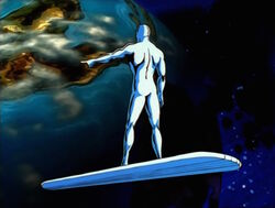 Silver Surfer Offers Zenn-La