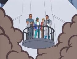 Human Fantastic Four Board Shuttle