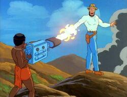 T'Challa Shoots Klaw