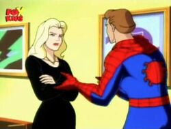 Spider-Flash Tries to Reason with Felicia