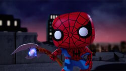 Spider-Man Uses Scepter SBD