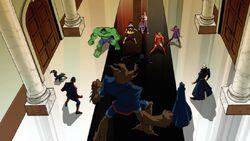 Avengers Confront Guardians AEMH