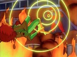 Magneto Blasts Rogue