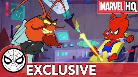 Spider-Ham Caught in a Ham