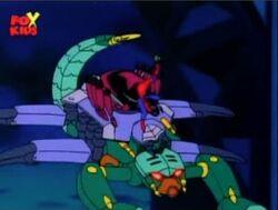 Spider-Man Rides Tri-Slayer