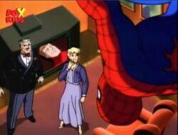 Spider-Man Watches Spider-Flash Broadcast