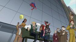 Spider-Man Finds MJ Parade SSM