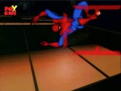 Spider-Man Leaps Away from Spider Seekers