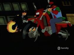 Ghost Rider Passes Rick