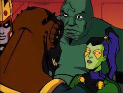 Lord Glenn Talks to Gamora