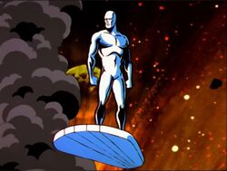 Silver Surfer Watches Morovus Prime Destroyed