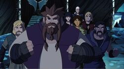 Asgardians Prepare For Kona Battle TTA