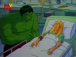 Hulk Betty Bedside