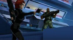 Widow Gives Fury Gun UA