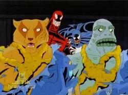 Symbiote Spores Control Guards