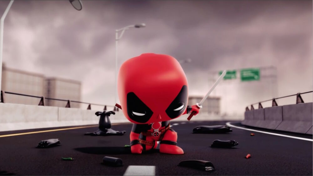 Deadpool Superhero Landing CMCG