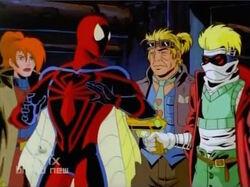 Git Threatens Spider-Man