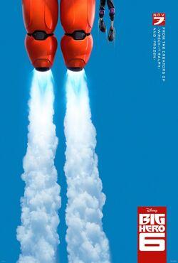 Big Hero 6 Teaser Poster