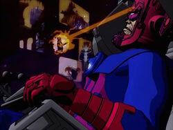 Galactus Shoots Master Zenn-La