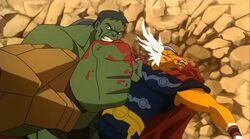Korg Stops Hulk PH