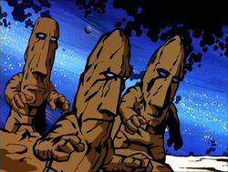 Aliens Easter Island