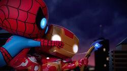 Iron Man Takes Scepter SBD